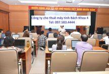 Thuê Máy Tính tập huấn sử dụng eOffice Tỉnh Lạng Sơn