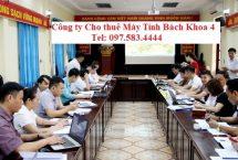 Thuê Laptop Tập huấn sử dụng phần mềm Tỉnh Hà Giang
