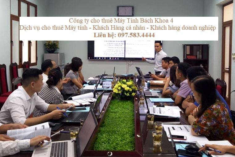 Thuê Máy Tính Tập huấn Quản trị phần mềm tỉnh Bắc Giang